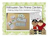 Halloween Ten Frame Centers