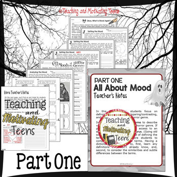 Horror Mini-Unit Bundle ELA Reading & Narrative Writing, Grade 8 - High School