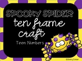 Halloween Teen Number Craft