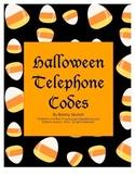 Halloween Telephone Codes Brainteasers