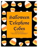Halloween Telephone Codes Brainteasers