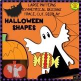 Halloween Shapes: Craft Patterns