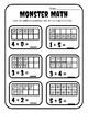 Halloween Ten Frame Activities Kindergarten Ten Frame Halloween Worksheets Add