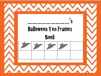 Halloween Ten Frame Books