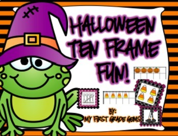 Halloween Subitizing/ Ten Frame Fun!