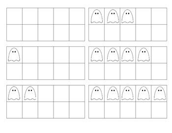 Halloween Ten Frame Game