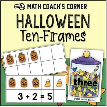 Halloween Ten-Frames