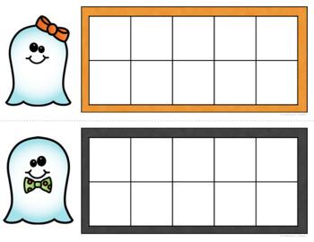 Halloween Ten Frames