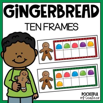 Gingerbread Ten Frames