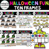 Halloween Ten Frames Clip Art Bundle {Halloween Clip Art} 230+ images