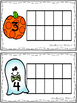 Halloween Ten Frames Counting Mats