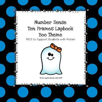 Halloween Ten Frames Lapbook (Boo Theme)