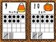 Halloween Tens Frame Number Cards