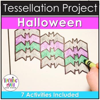 Halloween Tessellations Math Project