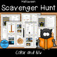 Halloween Text Features Posters and Scavenger Hunts