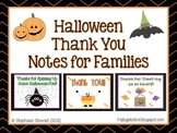 Halloween Thank You Notes