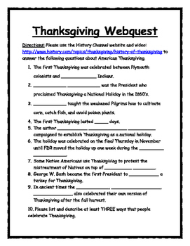 Halloween-Thanksgiving-Christmas-Easter HOLIDAY WEBQUEST BUNDLE