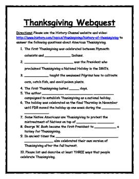 Halloween-Thanksgiving-Christmas-Easter HOLIDAY WEBQUEST BUNDLE