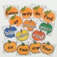 Halloween & Thanksgiving Sight Word Pocket Chart Game