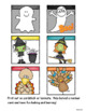 Halloween & Thanksgiving Sight Words:  Pocket Chart Game