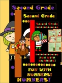 Halloween, Thanksgiving and Christmas Fun with Numbers