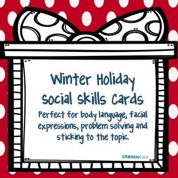 Halloween Thanksgiving and Christmas Social Skills Bundle
