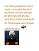 Thanksgiving story with comprehension and discussion questions