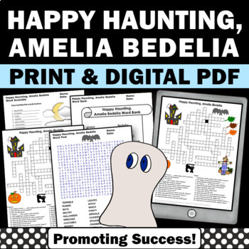 Happy Haunting Amelia Bedelia Halloween Book Activities &