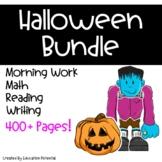 Halloween Reading Comprehension Math Writing Morning Work