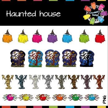 Ghosts in the Haunted House [Halloween Clips] NEW