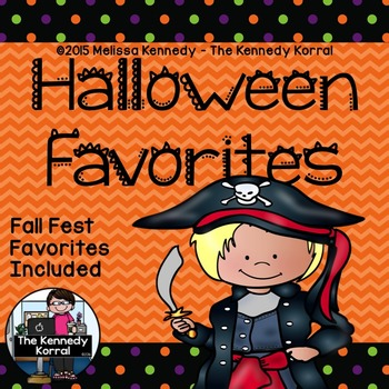 Halloween and Fall Festival Favorites {Writing Activity}