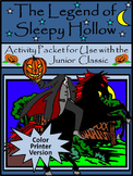 Halloween Activities: The Legend of Sleepy Hollow Activity Packet