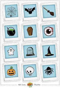 Halloween - The Magic Potion (Reading comprehension & writing)