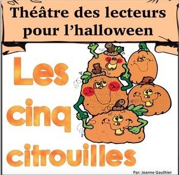 Halloween Théâtre des lecteurs: Cinq Citrouilles