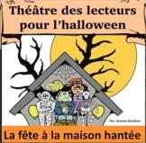 Halloween Théâtre des lecteurs: Une fête à la maison hantée