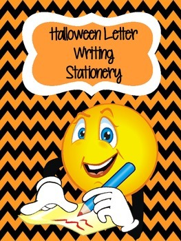 Halloween Thematic Letter Writing Templates