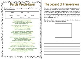 Halloween Thematic Unit for AUS NZ and UK Grades 3-4-5