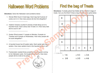 Halloween Thematic Unit for Grades 3-4