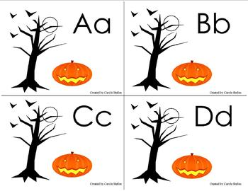 Halloween Theme Alphabet Bundle