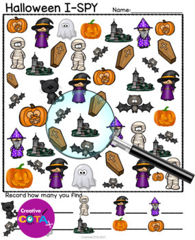 Halloween Theme Bundle Differentiated