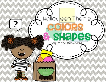 Halloween Theme Colors & Shapes Interactive ppt