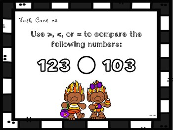 Halloween Theme: Comparing Numbers **TEKS ALIGNED**
