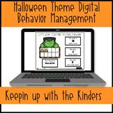 Halloween Theme Digital Management System | Distance Learning | Google Slides