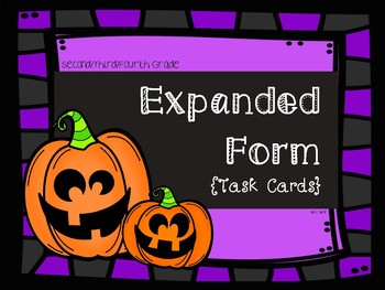 Halloween Theme: Expanded Form