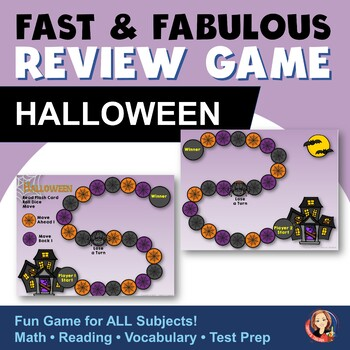 Halloween Game to Review Any Subject