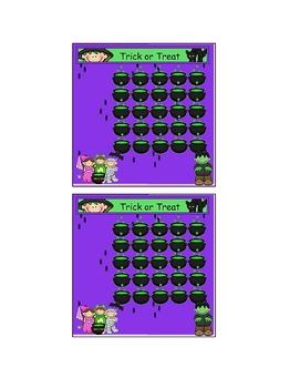 Halloween Theme Incentive Sticker Chart