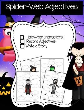 Halloween Theme Independent Writing Practice