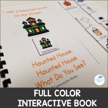 Halloween Theme - Interactive Adapted Book Pack - Dollar Deal!