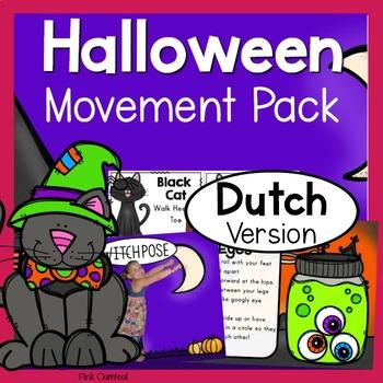 Halloween Theme Movement Pack - DUTCH Version