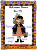Halloween Theme Packet for English Language Learners